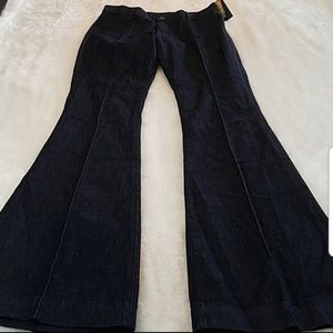 "NWT! Ralph Lauren sz 28 flare jeans w/34.5""inseam"